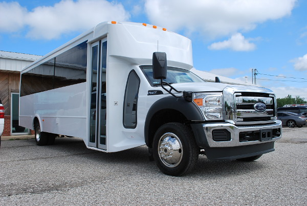22 Passenger Party Bus Rental Fayetteville North-Carolina