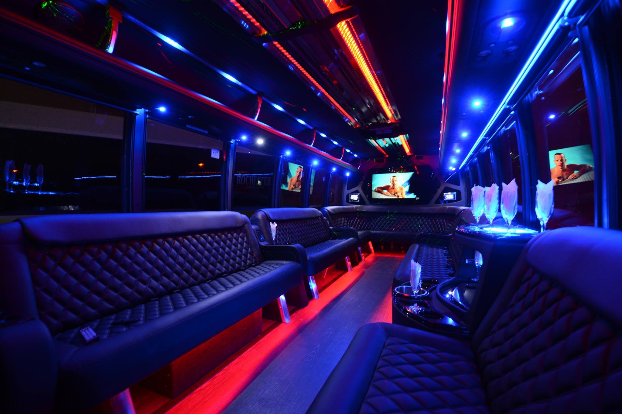 Fayetteville Party Bus Rental 1